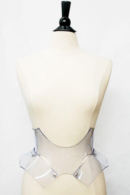 Image of Bat Belt - Clear PVC