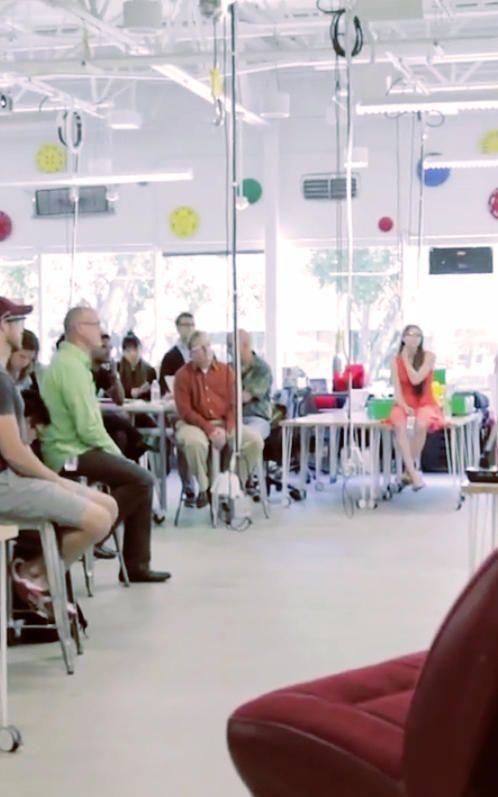 How Googles Flexible Workspace Ignites Creative Collaboration On Wheels