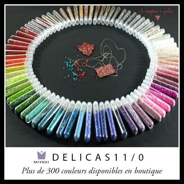 MIYUKI DELICA 11/0 NOUVEAU RAYON = NOUVELLES COULEURS + de 30 nouvelles couleurs font leur entrée dans notre large sélection Découvrez les toutes !  Réassort des couleurs tant attendues émoticône smile  #miyuki #delicas #miyukidelicas #miyukidelica #jenfiledesperlesetjassume #tissage #peyote #brickstitch #miyukiaddict #perle #bijoux #boheme #chic #bead #beads #beading #jewelry #fashion #luxe #tissageperles #premium #luxury #hautecouture #handembroidery #art #Paris #France #patience…