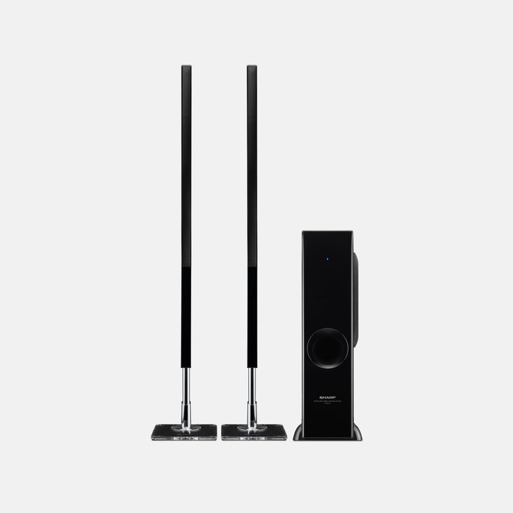 """Sharp 2.1 Soundbar 200 Watts w/ Subwoofer HT-SL75 - $69.99.  The HT-SL75 sound bar system features a unique twin super slim sound bar design that matches up and blends into most 60"""" – 70"""" Displays and can be used with an 80"""" Class TV home theater environments too. This system can be set up both horizontally like a typical soundbar, or vertically on the side of the TV for a flexible design solution. https://www.tanga.com/deals/82a30cb07ee7/sharp-2-1-soundbar-200-watts-w-subwoofer-ht-sl75"""