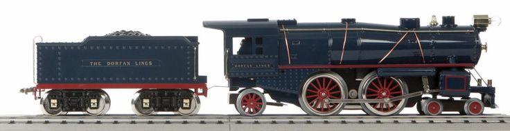 Locomotives 180323: Mth Standard Gauge Tinplate Dorfan Blue 1134 Steam Engine Ps3 10-1345-1 Mib -> BUY IT NOW ONLY: $639.99 on eBay!