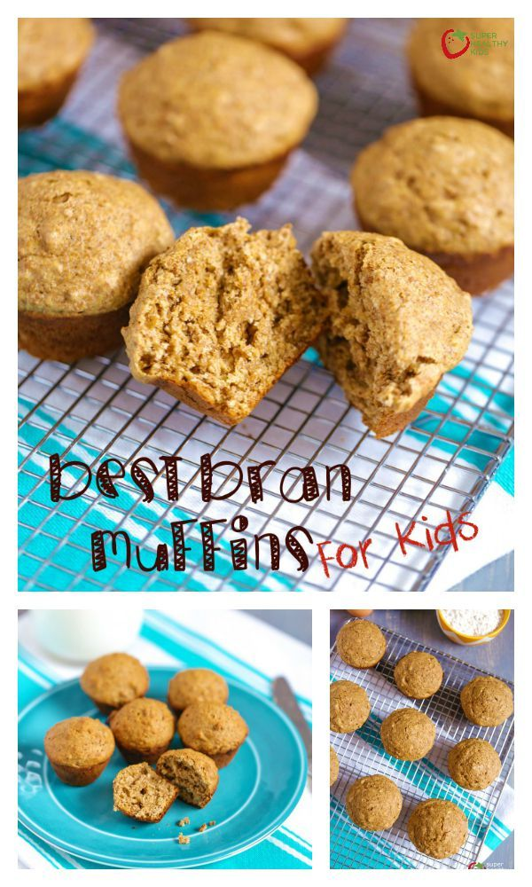 Best Bran Muffin Recipe for Kids - High fiber ingredient in these muffins make them a great choice for breakfast! http://www.superhealthykids.com/bran-muffin-bites-for-your-lil-sweetheart/