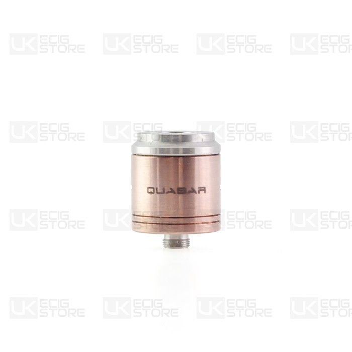 Cosmic Innovations Quasar RDA Atomizer ...The famous Quasar RDA Atomizer by Cosmic Innovations. A high quality and stylish atomizer featuring three post connection, airflow control and heat resistant insulator. One of the best atomizers on the electronic cigarette market