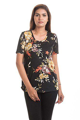 Hashtagirls Black Floral Printed T Shirt Hashtag Girls http://www.amazon.in/dp/B06Y24C54L/ref=cm_sw_r_pi_dp_x_YMGbzb0RPX38Y