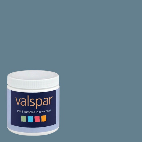 Valspar Celebration Blue...New Color for ShuttersWall Colors, Ideas, Painting Samples, Living Room, Satin Painting, Interiors Satin, Valspar 8 Oz, Painting Colors, Paint Samples