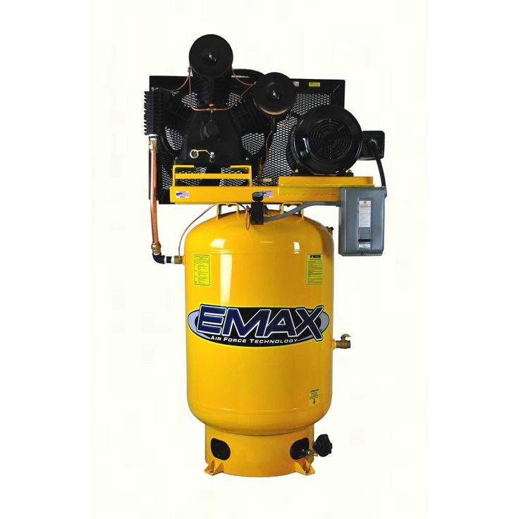 Industrial Plus Series 120 Gal. 15 HP 3-Phase 2-Stage Stationary Electric Vertical Air Compressor
