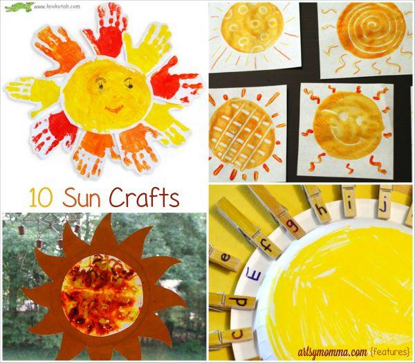 Celebrate Summer With Sun Crafts