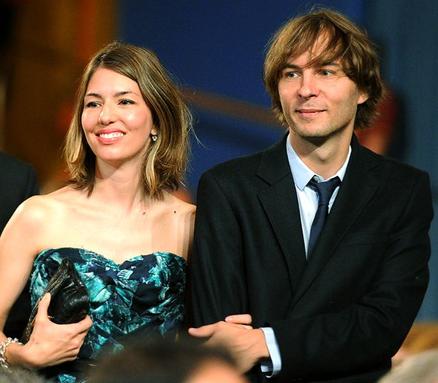 Sofia Coppola and Thomas Mars (Phoenix). I love that they're together. :)