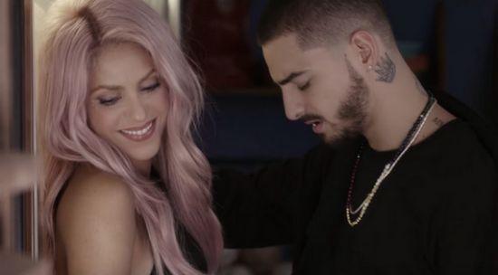 """Shakira e Maluma divulgam versão salsa de """"Chantaje"""" #Cantora, #Clipe, #Destaque, #Disco, #Hoje, #Lançamento, #Noticias, #Shakira, #Sucesso, #Youtube http://popzone.tv/2017/02/shakira-e-maluma-divulgam-versao-salsa-de-chantaje.html"""