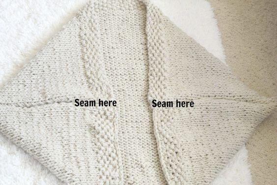 простое одеяло-шовные-свитер трикотажные модели фунтов