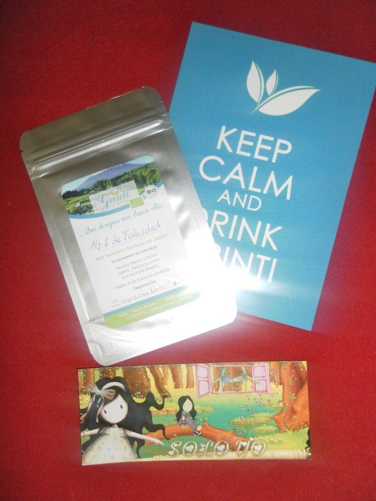 Té de sombra, Gyokuro (rocio de jade) es té ecológico de Japón. Fijaros en el sobre, es para 1/2L de agua, aunque rendirá mucho más, ya que se puede infuisonar mucho más. Como mínimo se pueden infusionar 4 veces. Muy importante la temperatura, no debe superar los 70 ºC porque sino quemariamos las delicadas hojas. Hay que dejar enfriar de 15-20m y listo. Grinti