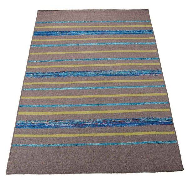 Spectrum rugs spe04 in grey and turquoise buy online from the rug seller uk