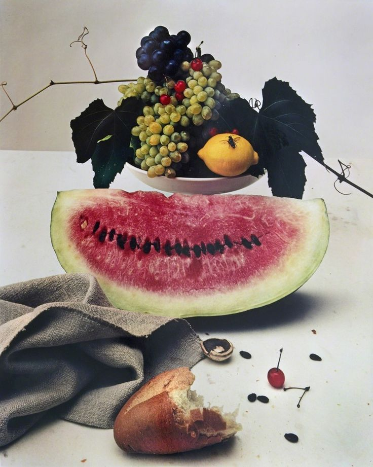 IRVING PENN, Still life with Watermelon, NY