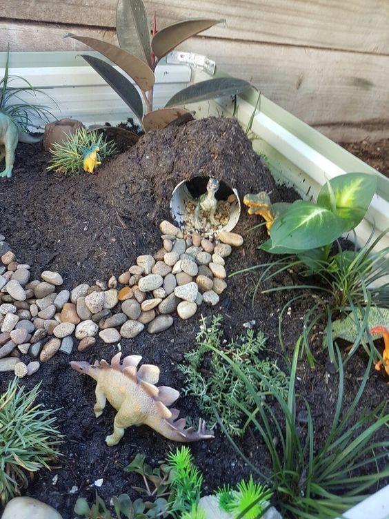 12 Besten Dinosaurier Themen Garten Ideen Mit Kreativen Design