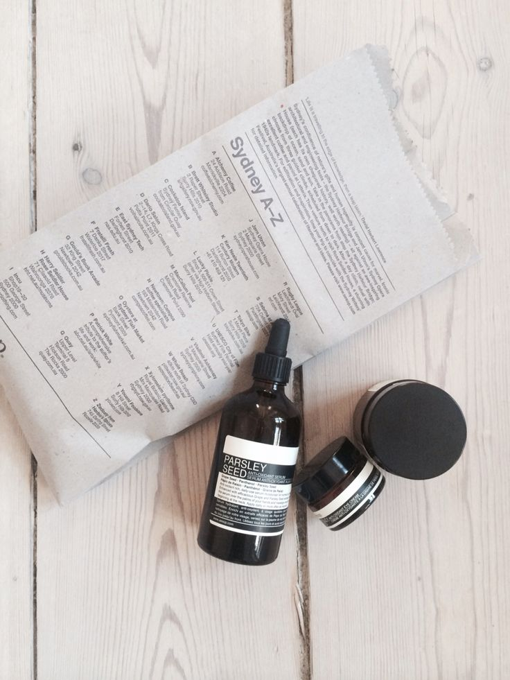Preventing myself from getting old;)  Lovely AESOP products