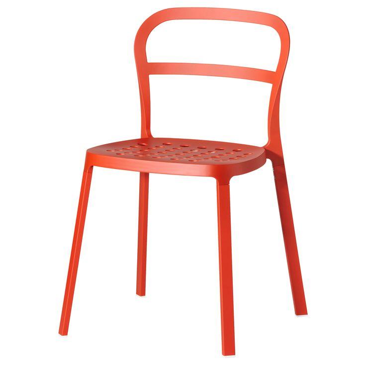 REIDAR Chaise   Orange   IKEA · Garden ChairsOffice ChairsFolding ...