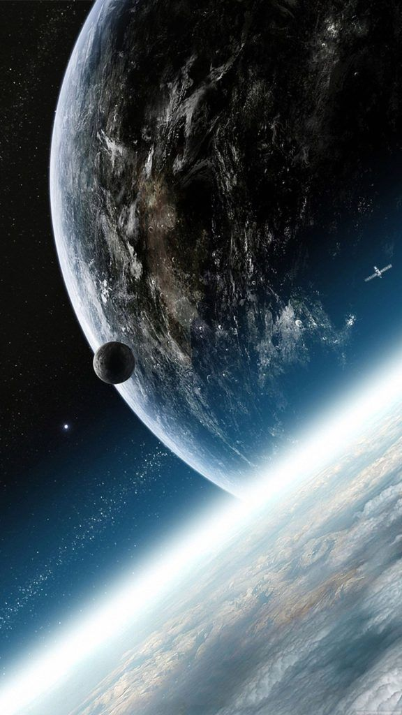 Ultra Hd 4k Image For Mobile Earth From E Phone Wallpaper Space Phone Wallpaper Wallpaper Space Space Iphone Wallpaper