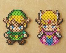 Lien & Zelda - Legend of Zelda Perler Bead Sprite Set