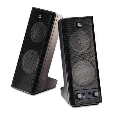 Logitech (970264-0403) Multimedia Speakers by Logitech. $25.15. Logitech X 140 - PC multimedia speakers - 5 Watt (total) - blackLogitech's X-140 stereo speakers feature dynamic, real-time bass equalization to maximize low frequency response while minimizing distortion. Use the convenient 3.5 mm auxiliary input to connect your portable MP3 or CD player, and customize your audio balance with easy-to-reach tone and volume controls.Product Description: Logitech X ...