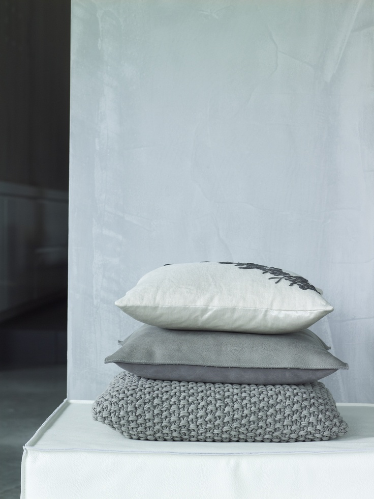 Piet Boon Styling by Karin Meyn | Styled grey pillows