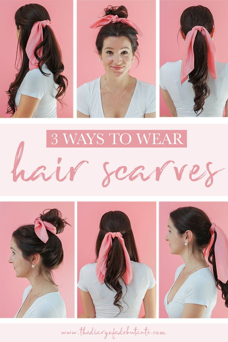 How to Wear Hair Scarves: 3 Easy-to-Wear Hairstyles + Fall Hair Refresh