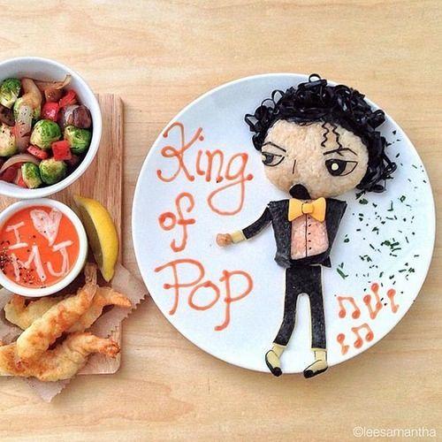 King of pop.
