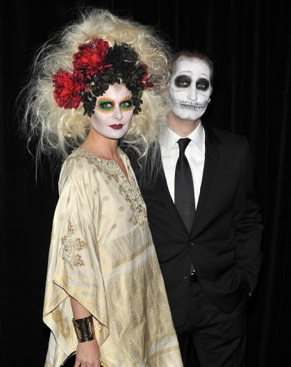 Day of the Dead... Debra Messing