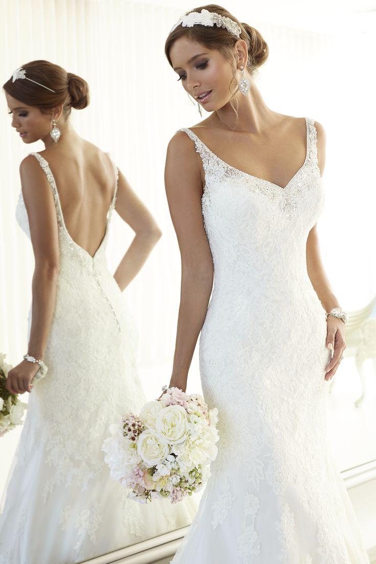 Elegantly Crafted Essense of Australia Wedding Dresses. To see more: http://www.modwedding.com/2014/06/26/elegantly-crafted-essense-of-australia-wedding-dresses/ #wedding #weddings #wedding_dress