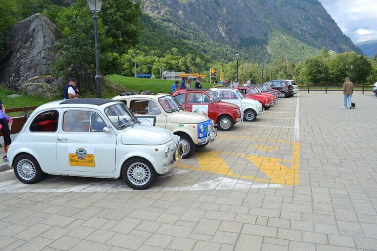 Primo Raduno FIAT 500 Cinquino nella Valle del Cervino 2014 sosta ad Antey Saint André ( Aosta Valley )  02/08/2014 FIAT 500 CLUB ITALIA COORDINAMENTO DI CREMONA  #valtournenche   #breuilcervinia   #cervino   #aostavalley   #enjoycervino   #summeradrenaline  #fiat500   #fiat500owners   #fontina  #dreamcar   #finally   #happy   #loveit   #car   #minicar   #italiancars   #fiat