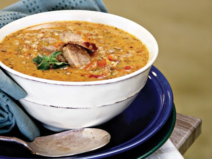 AMC Recipe | Barley soup with sausages and sour cream