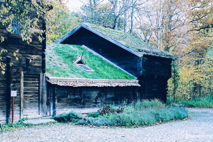 Une ferme à Skansen #Stockholm