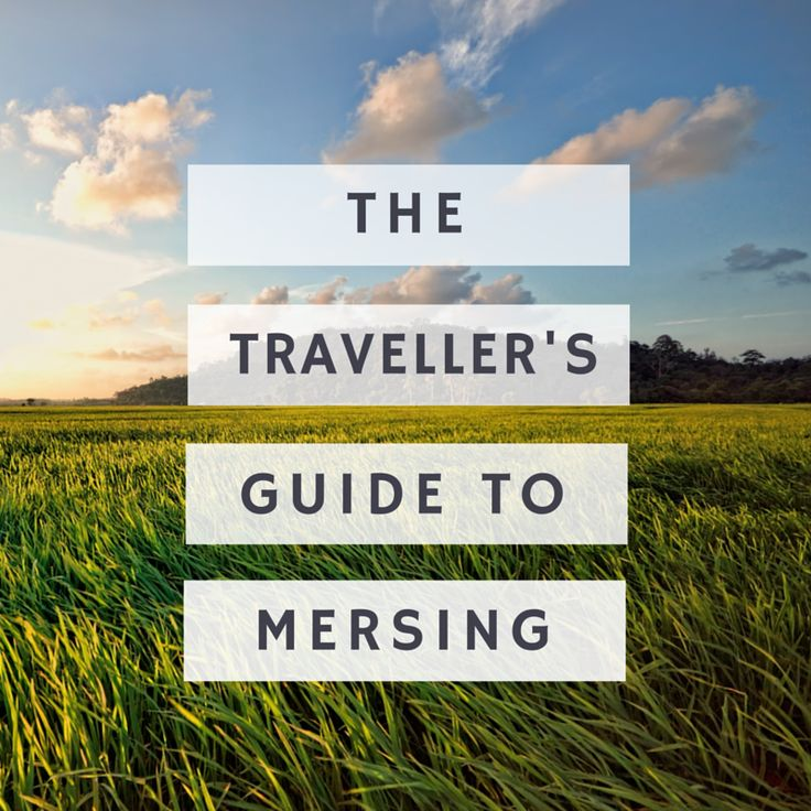 We been living in Mersing for the last 15 months and we've seen many travellers come through the town so I decided to create a guide on how to survive Mersing.