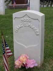 Isaac C. Parker, aka the Hanging Judge, 1896 AD, Age 58, Bright's Disease,  interred in Fort Smith National Cemetery, Arkansas