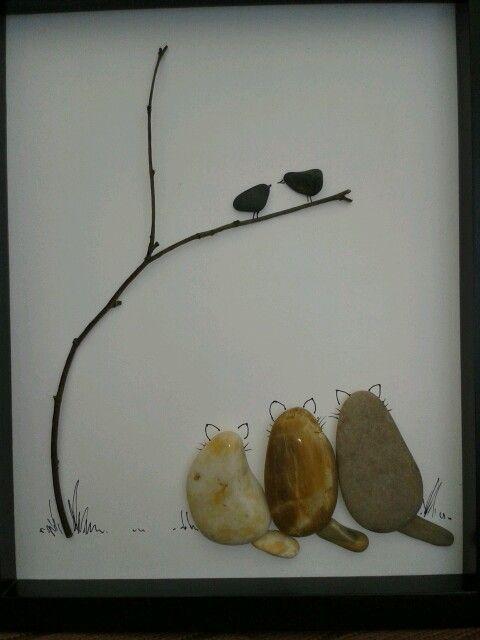 Fels- und Kies Kunst 11                                                                                                                                                                                 Mehr