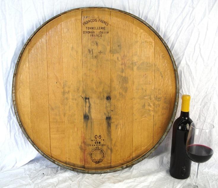1000 Images About Wine Barrel Head Decor On Pinterest