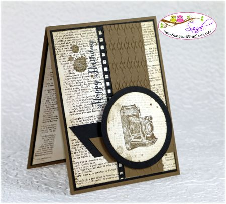 Stampin Up Traveler for Mojo Monday, card by Sandi @ www.stampinwithsandi.ca