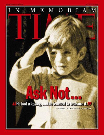 TIME Magazine Cover: John F. Kennedy Jr. - Aug. 2, 1999