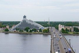 Riga, Biblioteca Nacional De Letonia