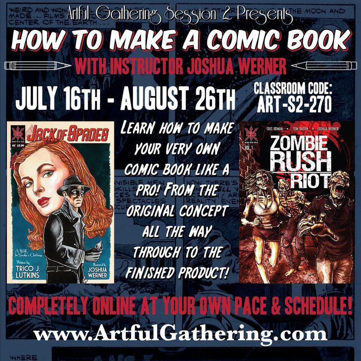Comic book writing classes los angeles