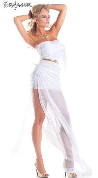 Lovely Aphrodite Costume, Sexy Goddess Costume, Greek Goddess Dress