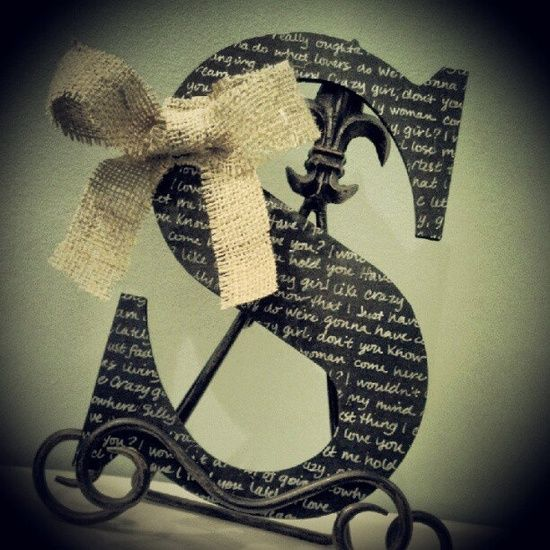 burlap crafts for weddings | First Dance Lyrics - Wedding - Wedding Lyrics - Wedding Song - Burlap ...