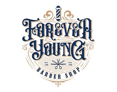 """Check out new work on my @Behance portfolio: """"Forever Young Barber Shop"""" http://be.net/gallery/62252901/Forever-Young-Barber-Shop"""
