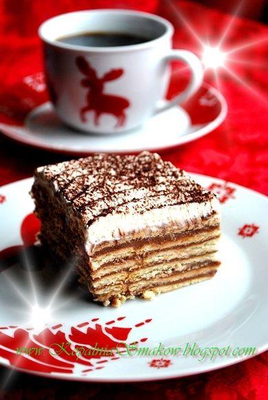 Polish Chocolate Biscuit Cake