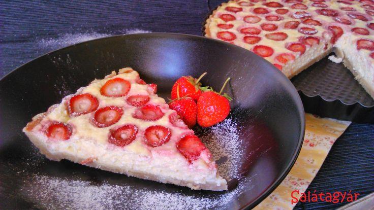 Diétás túrós pite jó sok eperrel, cukormentesen, zabpehelylisztből! Kóstold meg, ha fogyózol, IR vagy Candida diétázol, vagy cukorbeteg vagy! RECEPT >>>