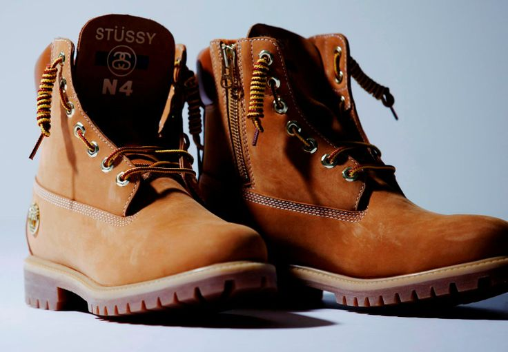 #Timberland #Boots by #Stussy