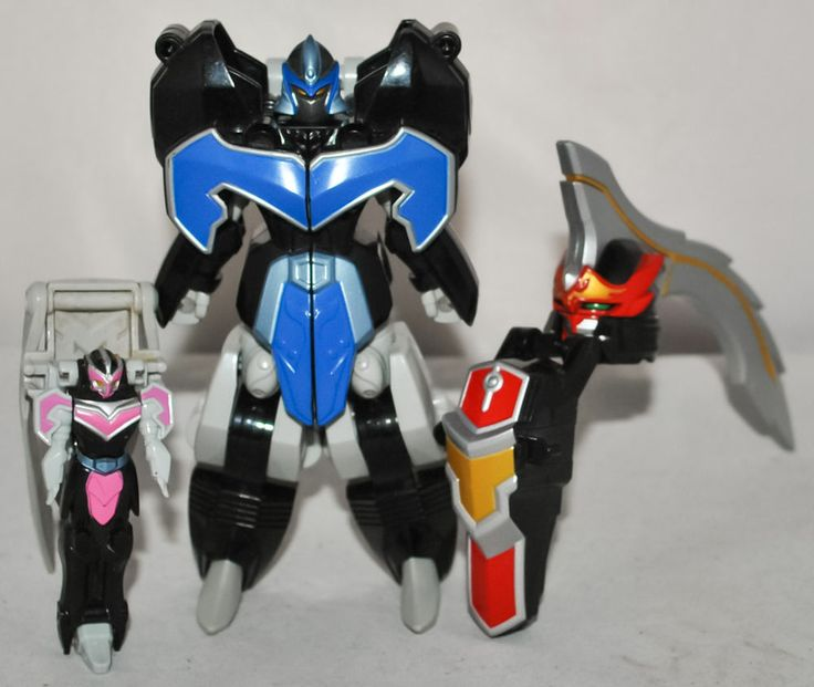 Power Rangers Mystic Force - Mermaid Zord, Butterfly Zord & Centaurus Wolf Tail