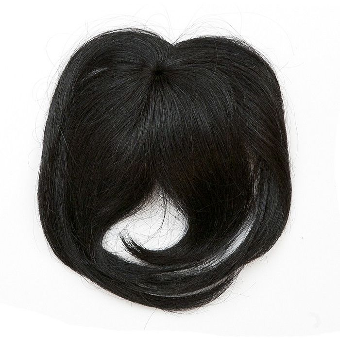 Clip in bangs afford a completely different look with little to no commitment. Three pressure sensitive weave clips secure bangs into place. 100% human hair Available in over 20 beautiful...