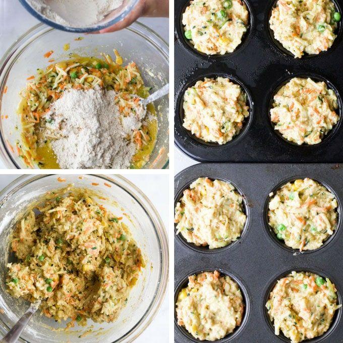 Vegetable Savoury Muffins Recipe Savory Muffins Vegetable Muffins Healthy Savoury Muffins