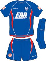 Aldershot Town FC Football Kits 2009-2010 3rd Kit