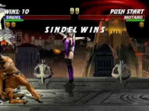 Mortal Kombat Trilogy: Sindel Very Hard Champion Ladder